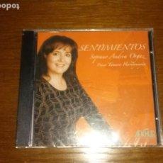 CDs de Música: CD - ANDREA ORGAZ - SENTIMIENTOS - EDITION SPANISH - CD PRECINTADO. Lote 134756494