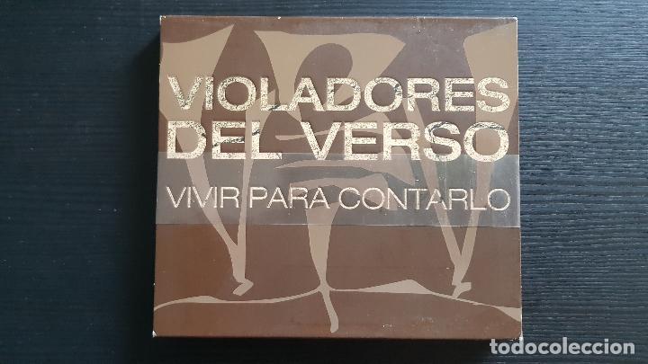 VIOLADORES DEL VERSO - VIVIR PARA CONTARLO - CD + DVD + DVD PROMO EL CORTE INGLÉS - RAP SOLO - 2006 (Música - CD's Hip hop)