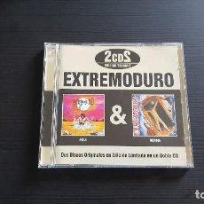 CDs de Música: EXTREMODURO - AGÍLA - DELTOYA - DOBLE CD ALBUM - WARNER - DRO - 2006 - ROBE INIESTA. Lote 134763070