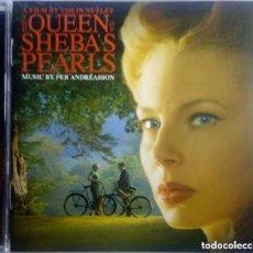 CDs de Música: THE QUEEN OF SHEBA´S PEARLS / PER ANDRÉASSON CD BSO. Lote 134798850