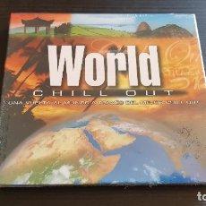 CDs de Música: WORLD CHILL OUT - CD + DVD - DIVUCSA - 2007. Lote 134803870