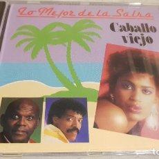CDs de Música: LO MEJOR DE LA SALSA / CABALLO VIEJO / CD - PERFIL / 12 TEMAS / PRECINTADO. Lote 134824806