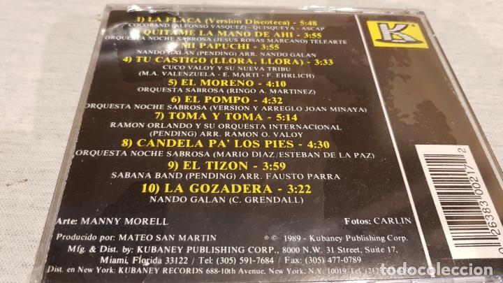 CDs de Música: MERENGAZOS DEL AÑO / VOL. 6 / CD - KUBANEY / 10 TEMAS / PRECINTADO. - Foto 2 - 158773944