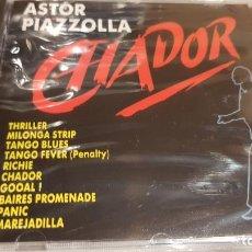 CDs de Música: ASTOR PIAZZOLLA / CHADOR / CD - PERFIL / 10 TEMAS / PRECINTADO.. Lote 134830318
