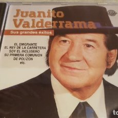 CDs de Música: JUANITO VALDERRAMA / SUS GRANDES ÉXITOS / CD - PERFIL / 14 TEMAS / PRECINTADO.. Lote 134849774