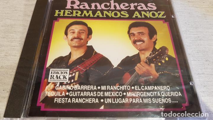 HERMANOS ANOZ / RANCHERAS / CD - DIVUCSA / 10 TEMAS / PRECINTADO. (Música - CD's Latina)