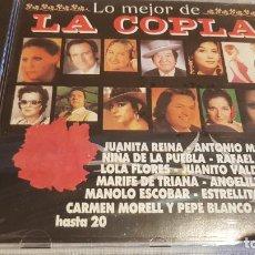 CDs de Música: LO MEJOR DE LA COPLA / VARIOS ARTISTAS / CD - DIVUCSA-PERFIL / 20 TEMAS / PRECINTADO.. Lote 134851106