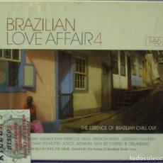 CDs de Música: BRAZILIAN LOVE AFFAIR 4 / THE ESSENCE OF BRAZILIAN CHILL OUT - CD. Lote 134856002