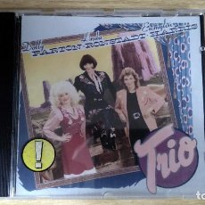 CDs de Música: DOLLY PARTON, LINDA RONSTADT, EMMYLOU HARRIS - TRIO - CD. WARNER BROS RECORDS. 1987. Lote 134856266