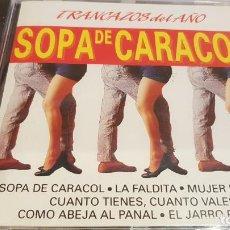 CDs de Música: TRANCAZOS DEL AÑO / SOPA DE CARACOL / CD - PERFIL / 12 TEMAS / PRECINTADO.. Lote 134857090
