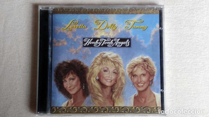 DOLLY PARTON-TAMMY WYNETTE-LORETTA LYNN - HONKY TONK ANGELS - CD. SONY MUSIC ENTERTAINMENT. 1993 (Música - CD's Country y Folk)