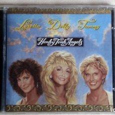 CDs de Música: DOLLY PARTON-TAMMY WYNETTE-LORETTA LYNN - HONKY TONK ANGELS - CD. SONY MUSIC ENTERTAINMENT. 1993. Lote 134857330