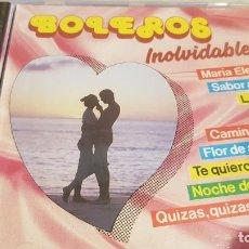 CDs de Música: BOLEROS INOLVIDABLES / CD - PERFIL / 18 TEMAS / PRECINTADO.. Lote 134857742