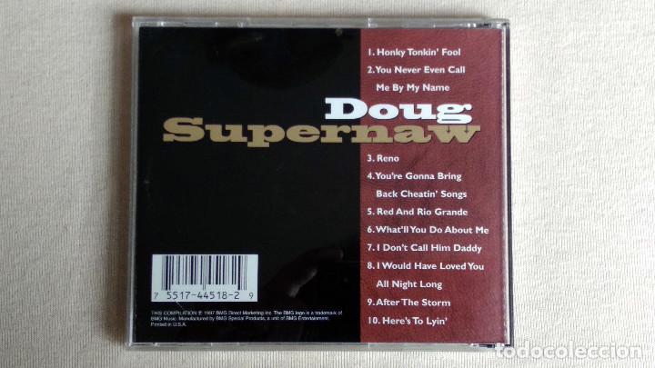 CDs de Música: DOUG SUPERNAW - The Encore Collection - CD. BMG. Año 1997 - Foto 3 - 134858482