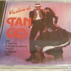 CDs de Música: CARLOS RAVEL Y SU ORQUESTA / VUELVE EL TANGO / CD - PERFIL / 14 TEMAS / PRECINTADO.. Lote 134859934