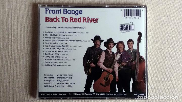 CDs de Música: FRONT RANGE - Back To Red River - CD. Sugar Hill Records. Año 1993 - Foto 3 - 134860706