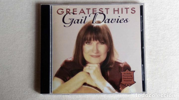 GAIL DAVIES - GREATEST HITS - CD. LITTE CHICKADEE RECORDS. AÑO 1995 (Música - CD's Country y Folk)