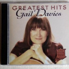 CDs de Música: GAIL DAVIES - GREATEST HITS - CD. LITTE CHICKADEE RECORDS. AÑO 1995. Lote 134861610
