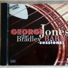 CDs de Música: GEORGE JONES - THE BRADLEY BARN SESSIONS - CD. MCD RECORDS. AÑO 1991. Lote 134867586