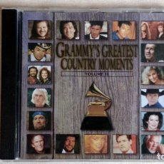 CDs de Música: GRAMMY'S GREATEST COUNTRY MOMENTS - VOLUME II - CD. ATLANTIC RECORDS. AÑO 1994. Lote 134868642