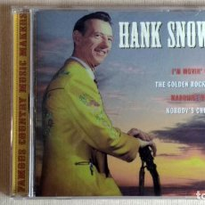 CDs de Música: HANK SNOW - FAMOUS COUNTRY MUSIC MAKERS - CD. SANCTUARY RECORDS. AÑO 2001. Lote 134869474