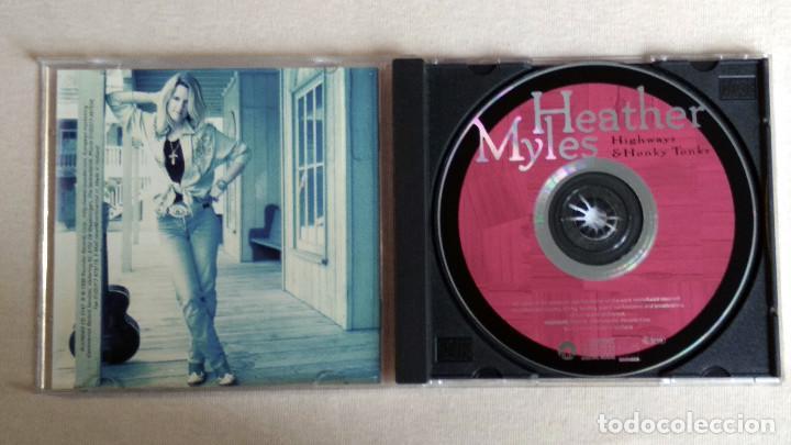 CDs de Música: HEATHER MYLES - Highways & Honky Tonks - CD. Rounder Records. Año 1998 - Foto 2 - 134869814