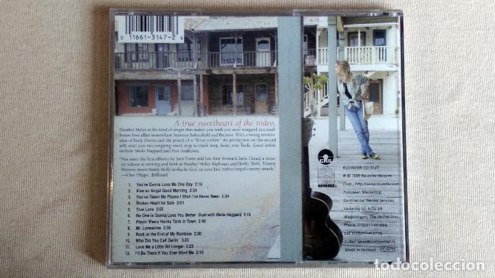 CDs de Música: HEATHER MYLES - Highways & Honky Tonks - CD. Rounder Records. Año 1998 - Foto 3 - 134869814