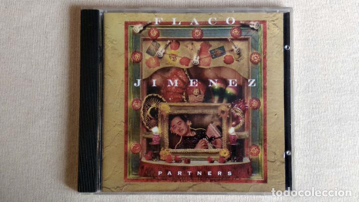 FLACO JIMENEZ - PARTNERS - CD. REPRISE RECORDS. AÑO 1992 (Música - CD's Country y Folk)
