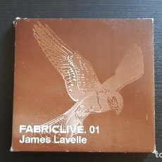 CDs de Música: JAMES LAVELLE - FABRIC LIVE 01 - CD ALBUM - FABRIC RECORDS - 2001 - METAL BOX. Lote 134874566