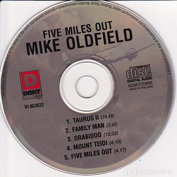 CDs de Música: Mike Oldfield ?– Five Miles Out (Netherlands, 1995) - Foto 3 - 134876098