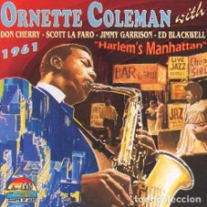 CDs de Música: ORNETTE COLEMAN 1961 CD. Lote 134876534