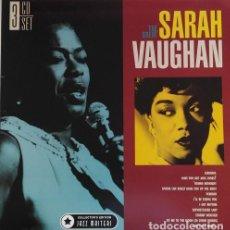 CDs de Música: THE GREAT SARAH VAUGHAN SET EDITION 3CD * NUEVO. Lote 134878038