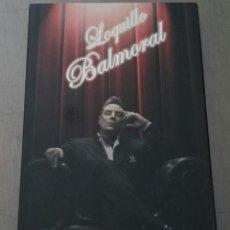 CDs de Música: LOQUILLO BALMORAL BOX 2 CD CAJA. Lote 134884350