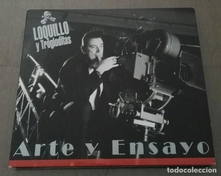 LOQUILLO Y TROGLODITAS ARTE Y ENSAYO DIGIPACK PRIMERA EDICION 2004 (Música - CD's Rock)