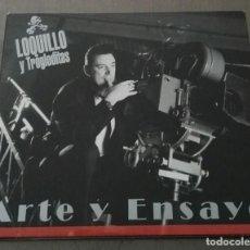 CDs de Música: LOQUILLO Y TROGLODITAS ARTE Y ENSAYO DIGIPACK PRIMERA EDICION 2004. Lote 134885770