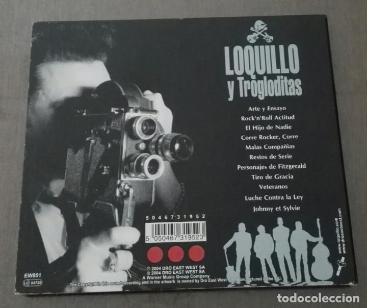 CDs de Música: Loquillo y trogloditas arte y ensayo digipack primera edicion 2004 - Foto 2 - 134885770
