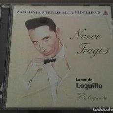 CDs de Música: LOQUILLO NUEVE TRAGOS. Lote 134886006