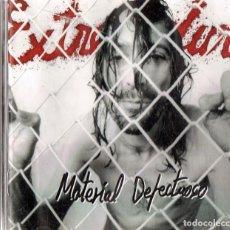 CDs de Música: EXTREMODURO ¨MATERIAL DEFECTUOSO¨ (CD). Lote 134893254