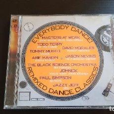 CDs de Música: EVERYBODY DANCE! - REMIXED DANCE CLASSICS - DOBLE CD ALBUM - ATLANTIC - 1998. Lote 134894762