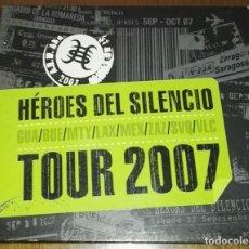 CDs de Música: HEROES DEL SILENCIO TOUR 2007 2CD BOX. Lote 134896566