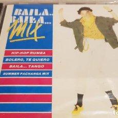 CDs de Música: BAILA BAILA MIX / CD - DIVUCSA / HIP HOP-BOLERO-TANGO-PACHANGA / PRECINTADO.. Lote 134902474