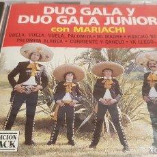 CDs de Música: DÚO GALA Y DÚO GALA JUNIOR CON MARIACHI / CD - PERFIL / 10 TEMAS / PRECINTADO.. Lote 134902822