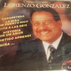 CDs de Música: LORENZO GONZALEZ / COMO SIEMPRE.../ CD - PERFIL / 13 TEMAS / PRECINTADO.. Lote 134903858
