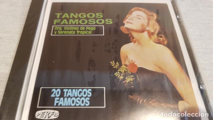 ORQ. VIOLINES DE PEGO Y SERENATA TROPICAL / TANGOS FAMOSOS / CD - KUBANEY /20 TEMAS / PRECINTADO. (Música - CD's Latina)