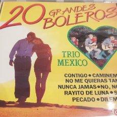 CDs de Música: TRIO MEXICO / 20 GRANDES BOLEROS / CD - PERFIL / 20 TEMAS / PRECINTADO.. Lote 134906358