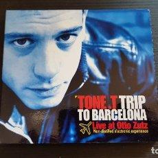CDs de Música: TONE. T TRIP TO BARCELONA - LIVE AT OTTO ZUTZ - DOBLE CD ALBUM - DIVUCSA - 2006. Lote 134916182