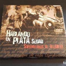 CDs de Música: HABLANDO EN PLATA SQUAD - SUPERVILLANOS DE ALQUILER - CD ALBUM - ZONA BRUTA - 2003 - CAPAZ - SICARIO. Lote 134919074