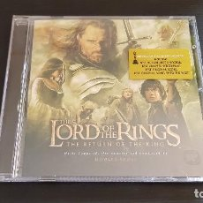 CDs de Música: THE LORD OF THE RINGS - THE RETURN OF THE KING - CD ALBUM - BSO - HOWARD SHORE - WARNER - 2003. Lote 134925566