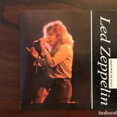 CDs de Música: LED ZEPPELIN ?– SONGS FROM THE VAULT SELLO: THE SILVERBIRD RECORD COMPANY ?– ZLDCD42 FORMATO: CD . Lote 134931390