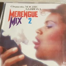 CDs de Música: ORQUESTA NOCHE SABROSA / MERENGUE MIX 2 / CD - PERFIL / 5 MIXES / PRECINTADO.. Lote 134935574